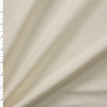 Ivory Designer Linen Fabric By The Yard