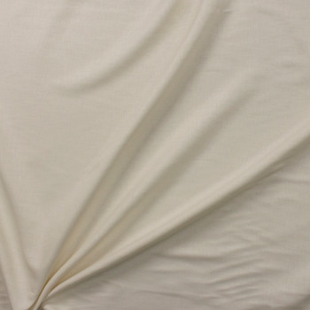 Ivory Designer Linen Fabric By The Yard - Wide shot