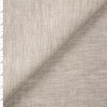 Natural Midweight Designer Linen Fabric By The Yard