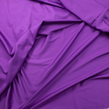 Purple Shirting Weight Cotton Sateen Fabric By The Yard - Wide shot