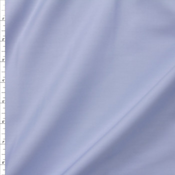 Light Blue Shirting Weight Cotton Sateen Fabric By The Yard