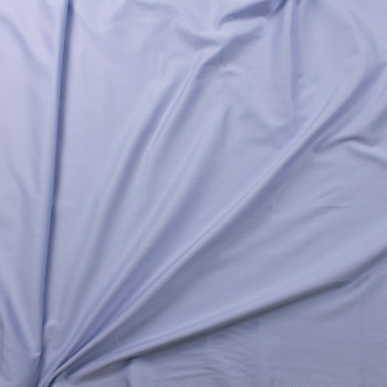 Light Blue Shirting Weight Cotton Sateen Fabric By The Yard - Wide shot