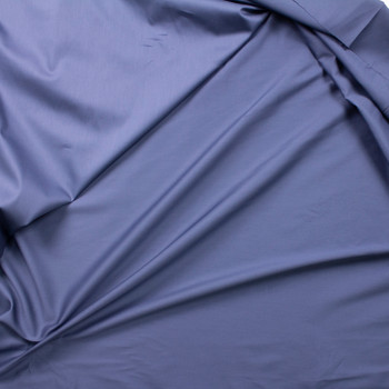 Slate Shirting Weight Cotton Sateen Fabric By The Yard - Wide shot