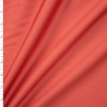 Dusty Cinnamon Shirting Weight Cotton Sateen Fabric By The Yard
