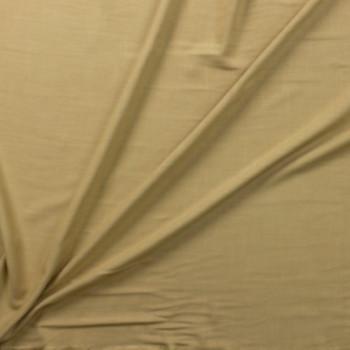 Khaki Rayon Linen Look Fabric By The Yard - Wide shot