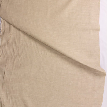 Natural Rustic Cotton/Linen Blend Fabric By The Yard - Wide shot