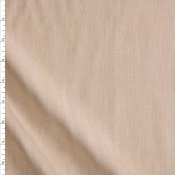 Natural Drapey Rayon/Linen Blend Fabric By The Yard
