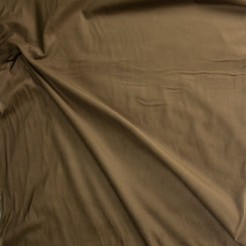 Olive Khaki Baby Wale Corduroy Fabric By The Yard - Wide shot