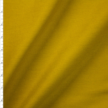 Pea Green Midweight Chunky Linen Blend Fabric By The Yard