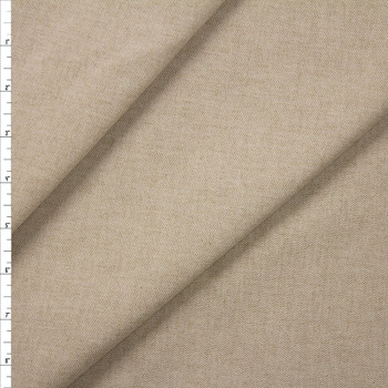 Natural Midweight Cotton/Linen Blend Fabric By The Yard