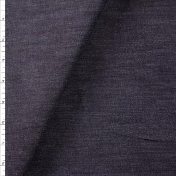 Dark Indigo #2 Designer Denim From 'True Religion' Fabric By The Yard