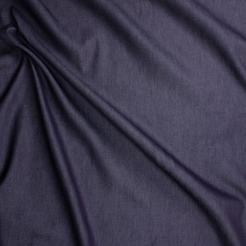 Dark Indigo #3 Designer Denim From 'True Religion' Fabric By The Yard - Wide shot