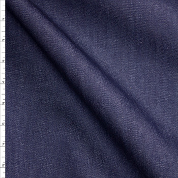 Indigo #27 Designer Denim From 'True Religion' Fabric By The Yard