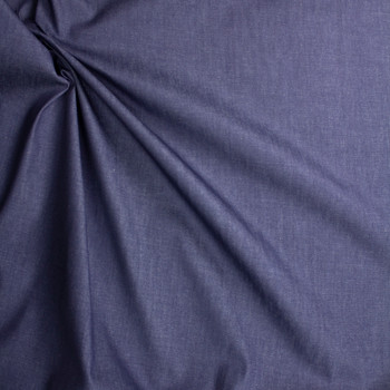Indigo #27 Designer Denim From 'True Religion' Fabric By The Yard - Wide shot