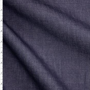 Warm Indigo #2 Designer Denim From 'True Religion' Fabric By The Yard