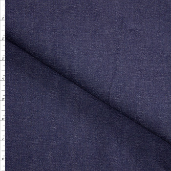 Indigo #28 Designer Denim From 'True Religion' Fabric By The Yard