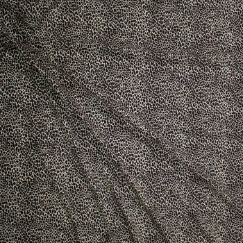 Cheetah Print Cotton Jersey Fabric By The Yard - Wide shot