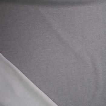 Light Grey Soft Heavyweight Sweatshirt Fleece Fabric By The Yard - Wide shot