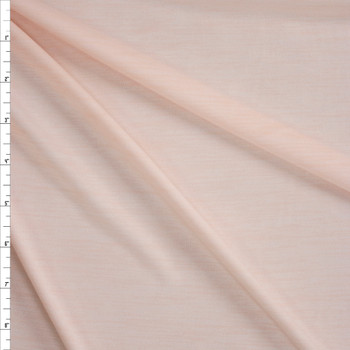Blush Space Dye Moisture Wicking Designer Athletic Knit Fabric By The Yard