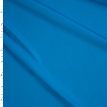 Turquoise Moisture Wicking Designer Athletic Knit Fabric By The Yard
