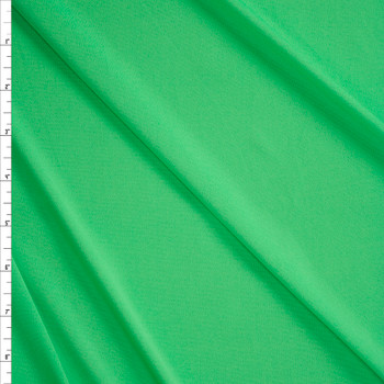 Bright Mint Moisture Wicking Designer Athletic Knit Fabric By The Yard