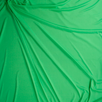 Bright Mint Moisture Wicking Designer Athletic Knit Fabric By The Yard - Wide shot