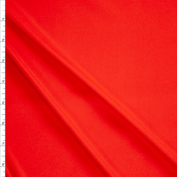 Red Moisture Wicking Designer Athletic Knit Fabric By The Yard