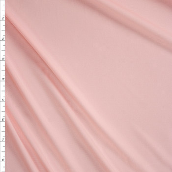 Blush Moisture Wicking Designer Athletic Knit Fabric By The Yard