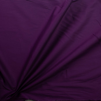 Plum Stretch Cotton Broadcloth Fabric By The Yard - Wide shot