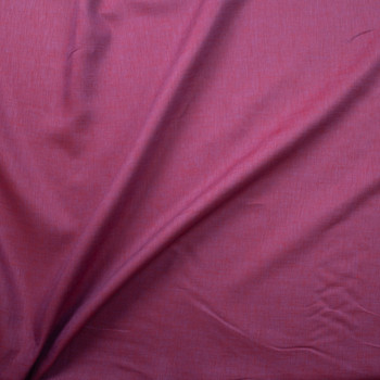 Wine Purple Two Tone Linen Fabric By The Yard - Wide shot