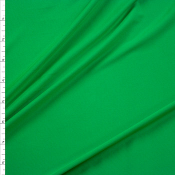 Bright Green Stretch Moisture Wicking Athletic Knit Fabric By The Yard