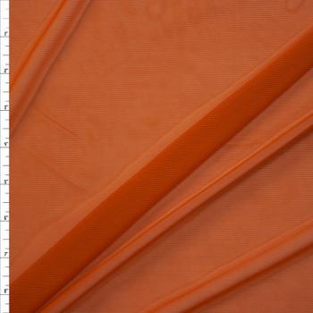 Caramel Designer Power Mesh Fabric By The Yard