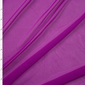 Purple Designer Power Mesh Fabric By The Yard
