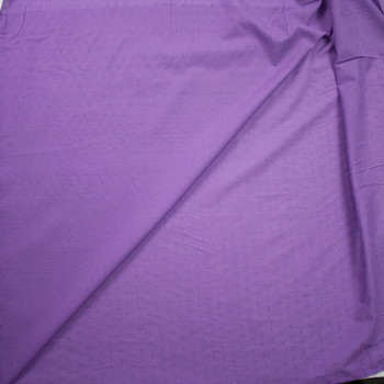 Lavender Swiss Dot Cotton Lawn Fabric By The Yard - Wide shot