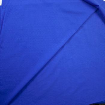 Royal Blue Swiss Dot Cotton Lawn Fabric By The Yard - Wide shot