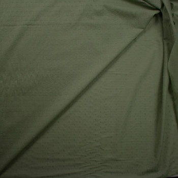 Sage Swiss Dot Cotton Lawn Fabric By The Yard - Wide shot