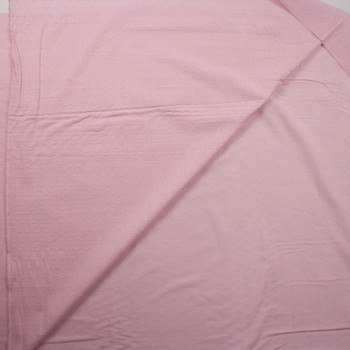 Dusty Rose Swiss Dot Cotton Lawn Fabric By The Yard - Wide shot