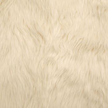 Ivory Shag Faux Fur