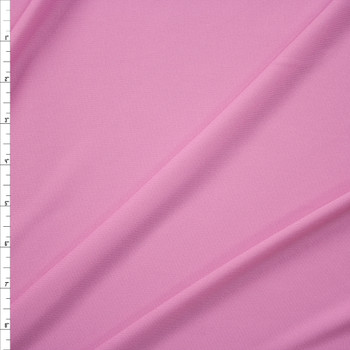 Pink Moisture Wicking Designer Athletic Knit Fabric By The Yard