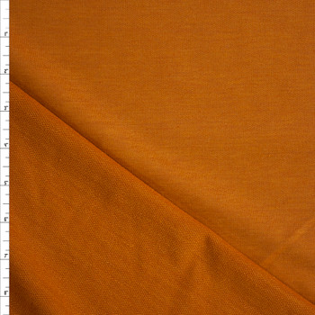 Dijon Solid Poly/Rayon French Terry Fabric By The Yard