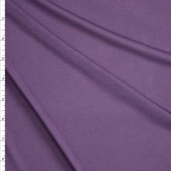 Dusty Plum Lightweight Modal Jersey Fabric By The Yard