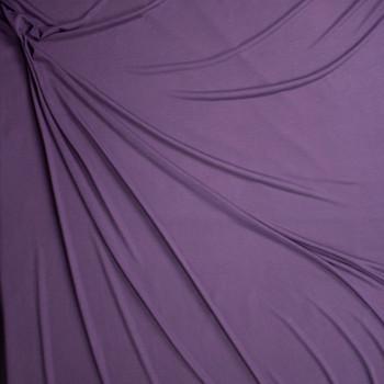 Dusty Plum Lightweight Modal Jersey Fabric By The Yard - Wide shot