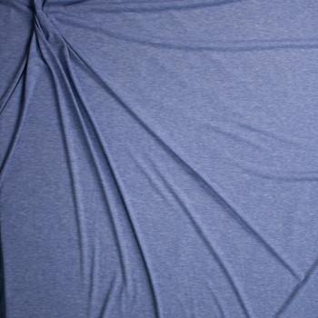 Light Blue Heather Light Midweight Jersey Knit Fabric By The Yard - Wide shot