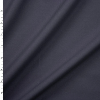 Charcoal Designer Stretch Midweight Poplin Fabric By The Yard