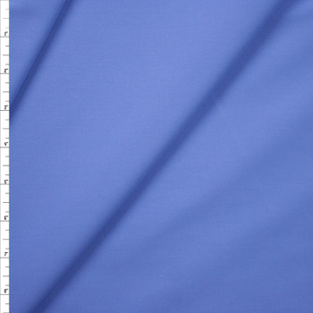 Sky Blue Designer Stretch Midweight Poplin Fabric By The Yard