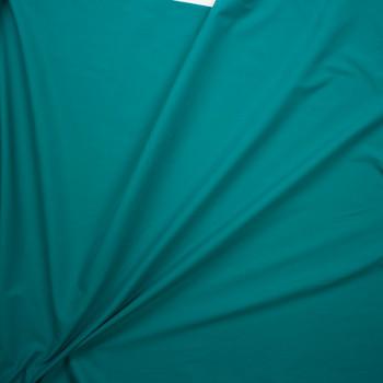 Jade Designer Stretch Midweight Poplin Fabric By The Yard - Wide shot