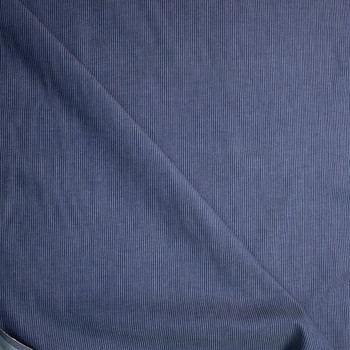 Ribbed Pinstripe 8oz Ribbed Denim Fabric By The Yard - Wide shot