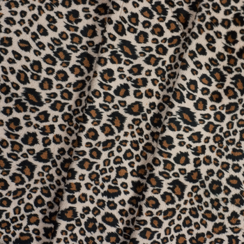 Cheetah Print Cuddle Fake Fur