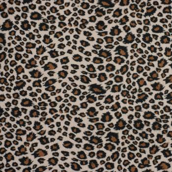 Cheetah Print Cuddle Fake Fur (Laid flat to better show print)