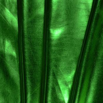 Kelly Green Lycra Lame Fabric